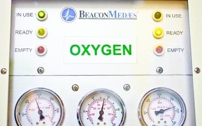 An oxygen system for pets during surgery